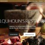 New Colquhoun's Restaurant by Loch Lomond website