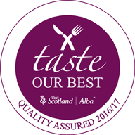 Taste Our Best - Quality Assured by Visit Scotland